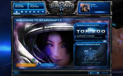 StarCraft 2 Bnet menu Котёнок