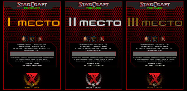 Турнир по StarCraft Brood War в честь десятилетия клана 7x