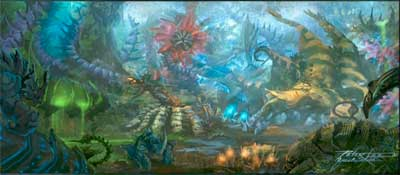 StarCraft 2 Heart of the Swarm Concept Art