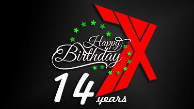 14 лет клану 7x