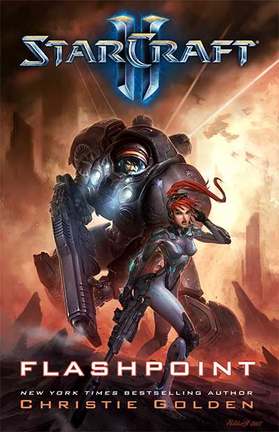 StarCraft Book - Flashpoint Cover