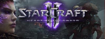 Вступительный ролик и геймплей кампании StarCraft 2 Heart of the Swarm