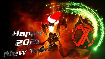 7x Team поздравляет всех с Новым 2021 Годом!