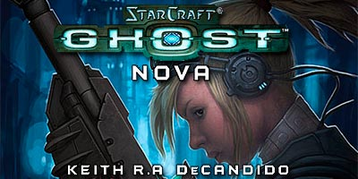 Завершен перевод романа StarCraft Ghost: Нова