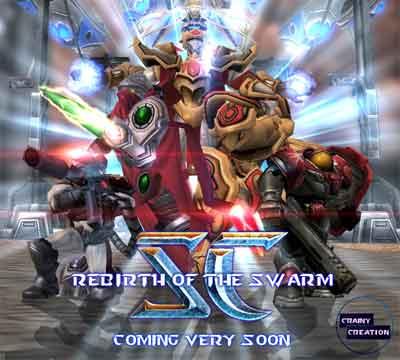 Starcraft Rebirth of the Swarm Poster