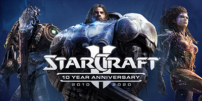 StarCraft 2 исполнилось 10 лет