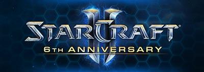 StarCraft 2 исполняется 6 лет!