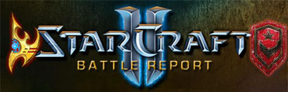 StarCraft 2 Battle Report 4 Protoss vs Terran