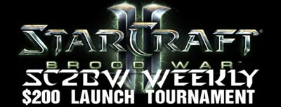 StarCraft 2 BroodWar Mod Weekly Tournament