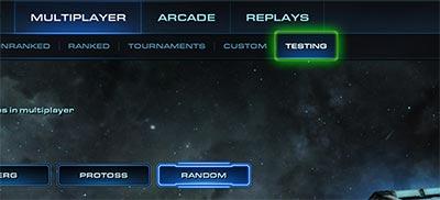 Тестовые карты в разделе сетевой игры