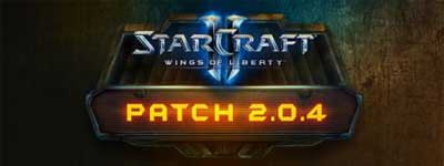 StarCraft 2 Wings of Liberty Patch 2.0.4
